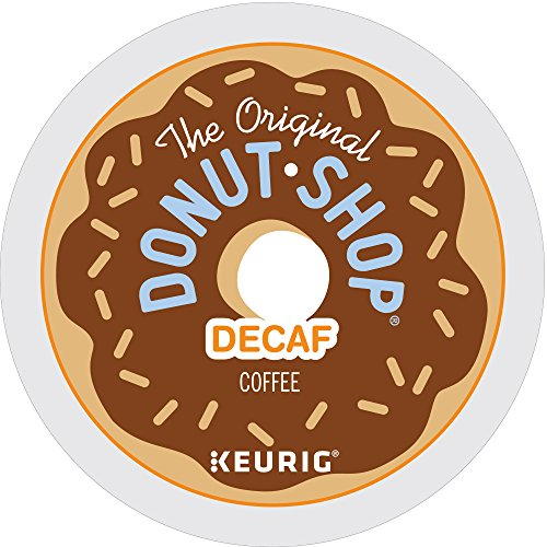 The Original Donut Shop Decaf Keurig Single-Serve K-Cup Pods, Medium Roast Coffee, 72 Count (6 Boxes of 12 Pods)