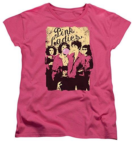 Womens: Grease - Pink Ladies Ladies T-Shirt Size S (Grease 2 Pink Ladies)