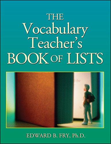 The Vocabulary Teacher's Book of Lists