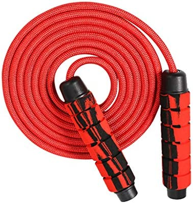 Weighted Skipping Rope Removable Weights Jump Rope for Cardio Fitness Workouts Endurance Training Memory Foam Handles