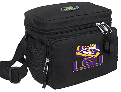 Broad Bay LSU Tigers Lunch Bag Official NCAA LSU Lunchboxes