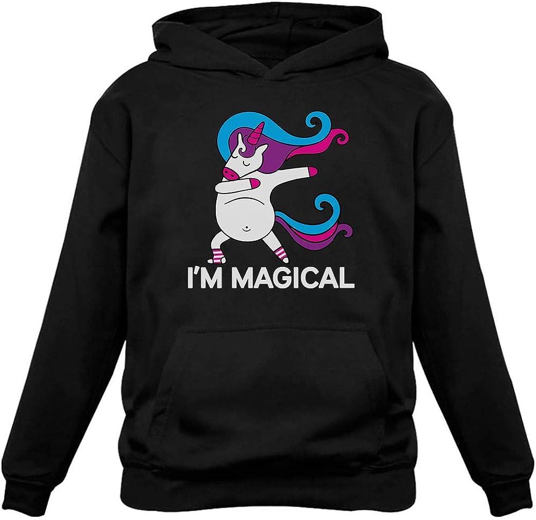 Tstars - Unicorn Dab I'm Magical Dabbing Unicorn Women Hoodie