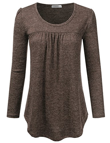 Pleated Blouse Shirt - 4