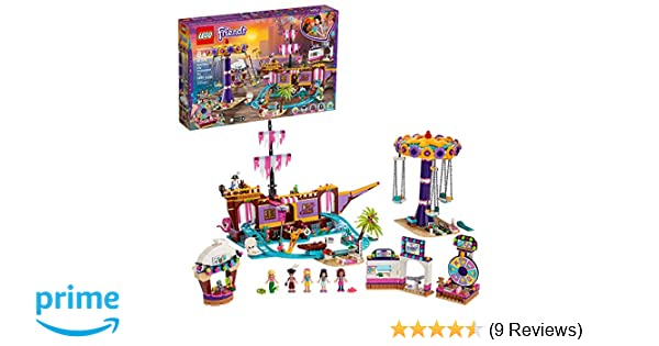 NEW Building kits city girls friend Amusement Park High Quality Free shipping