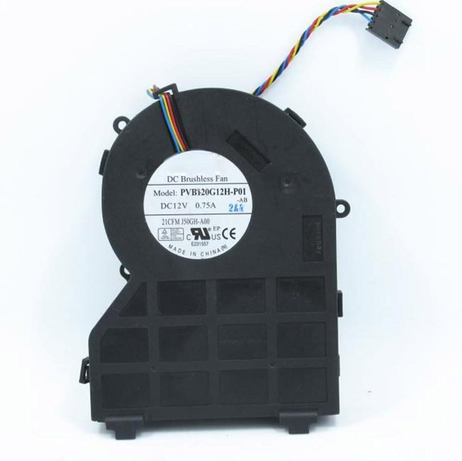 FOXCONN PVB120G12H-P01 12V 0.75A DC Brushless Fan DELL 390 790 990 Laptop