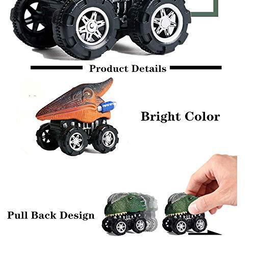 Dino Toys Car Toys for 3 Year Old Boys,Dinosaur Cars for 3 Year Old Boy Toys Pull Back Dinosaur Car Toys for Boys Over 3 Years Old,8Pcs Dinosaur Trucks Pull Back Dinosaur Cars Aqueous