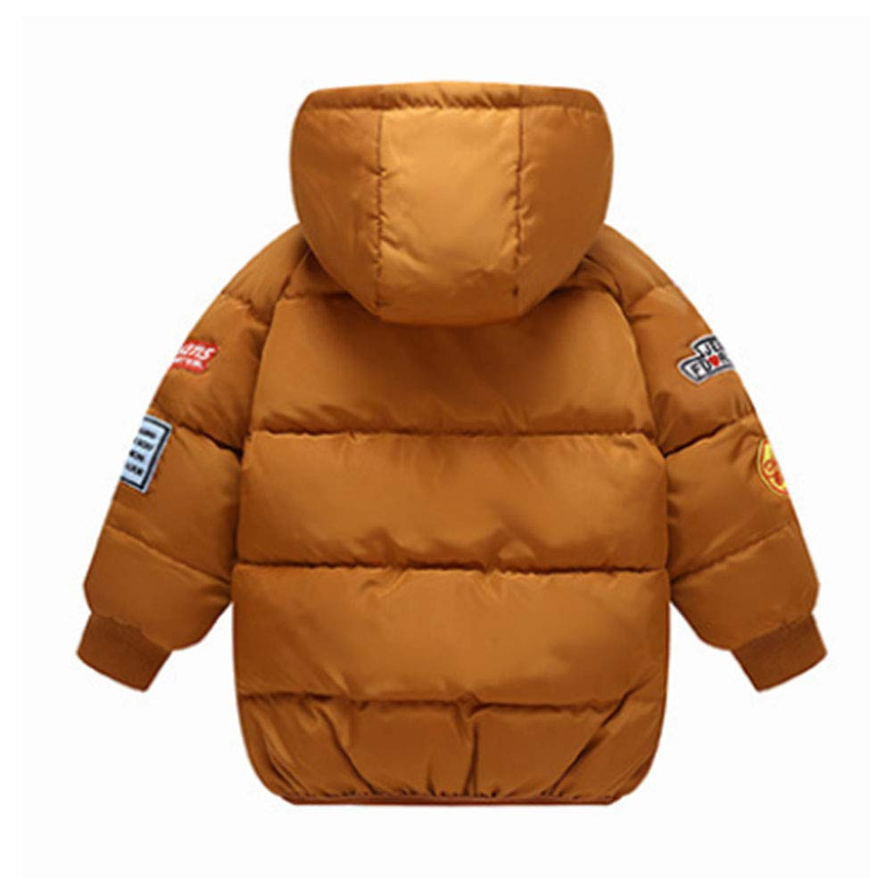 M/&A Boys Lightweight Water-Resistant Packable Puffer Jacket Winter Coat