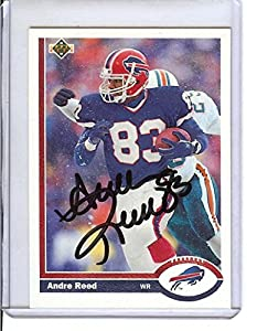 Football NFL 1991 Upper Deck #43 Andre Reed Bills