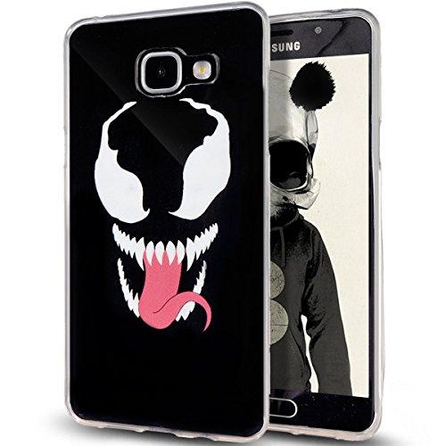 ikasus - Bolso estilo cartera para mujer Big Mouth Cat The Devil's Tongue