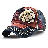 Vintage Baseball Cap Unisex Low Profile Headwear Hiphop Denim Snapback Hat