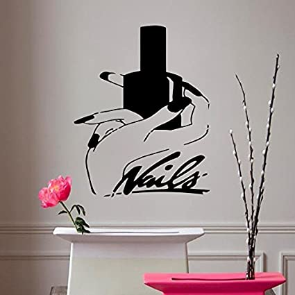 Amazon Com Hair Salon Decor Wall Decal Hair Salon Art Beauty Salon