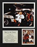 """Back to the Future 11"""" X 14"""" Unframed Matted Photo"""