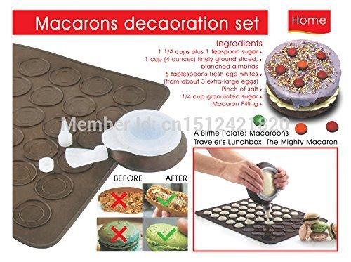 Macaron Baking Set,silicone Cake Mold Mat,baking & Pastry Tools Kitchen Gadgets by JetkyShop