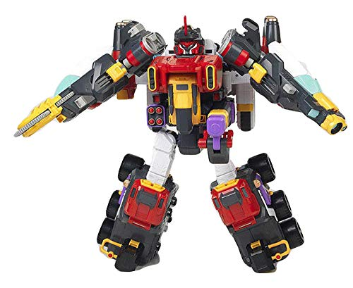 Academy Animation Anime T-Buster Series Season 2 X-Buster Transforming Trasformation Action Figure Figurine Toy Robot (Batteries Not Included)