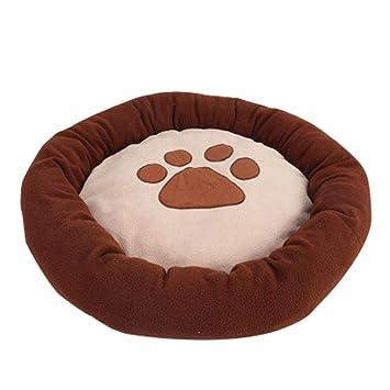 LIJUMN Perreras para Perros, Modelo Redondo Redondo para Perros, Cama Redonda para Perros, con Parte Inferior Redonda, cómoda y Conveniente para ...
