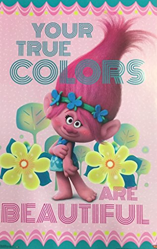 Trolls Poppy Your True Colors Are Beautiful Movie Poster