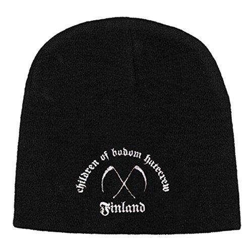Children of Bodom Hatecrew Finland nuevo oficial Negro Beanie Hat