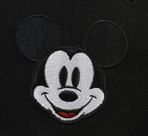 Disney–New Era 59FIFTY Casquette–Mickey Mouse–Mickey Face–Black