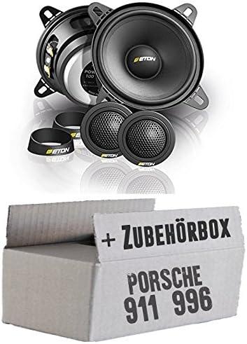 Eton Pow 100 2 Compression 2 Wege Lautsprecher System Einbauset Für Porsche 911 996 Just Sound Best Choice For Caraudio Navigation