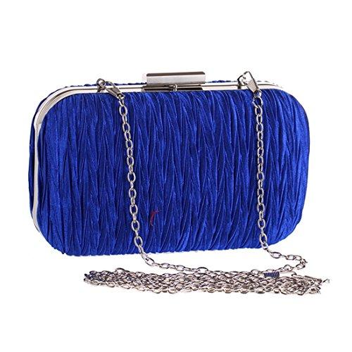 Argenté Silver LBY 004 Pochette pour Bleu Femme xqpwTSp7