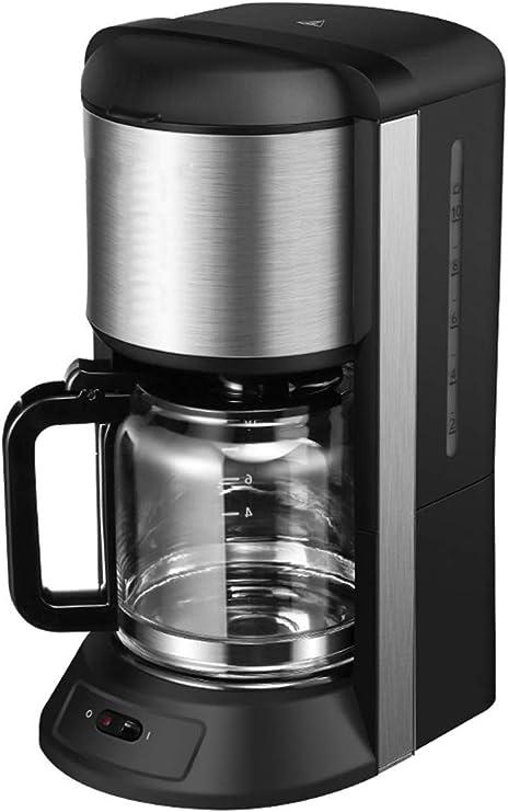 KaiKai Filtro de café de la máquina, los Fabricantes de café de Goteo con 1200ML Jarro de Cristal Desmontable Filtro de café de la máquina Anti-Goteo Diseño Mantenga Caliente 920W: Amazon.es: Hogar