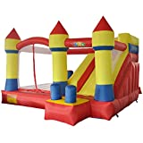 YARD Inflatable Bouncer Slide Obstacle Combo Children Outdoor Jumping Castle with Blower 13.1'x12.5'x8.2' offers