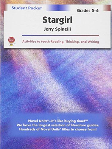 Stargirl - Student Packet by Novel Units, Inc.