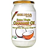 GEISHA Organic Extra-Virgin Coconut Oil (1000ml)