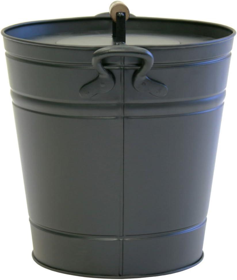 14.75″D x 12.25″W x 7 Pilgrim Home and Hearth 19504 Air Insulated Ash Bucket