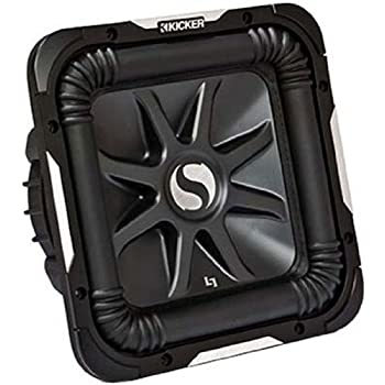 "Amazon.com: Kicker 8"" Solo-Baric L7 Car Subwoofer 4 OHM"