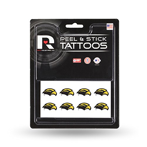 NCAA Southern Mississippi Golden Eagles Face Tattoos