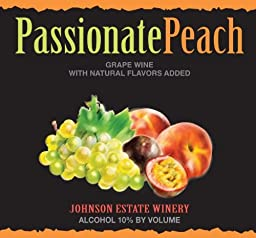 NV Johnson Estate Passionate Peach 750 mL