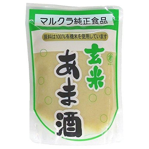 Marukura brown rice sweet wine organic rice use 250g