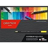 Caran D'Ache Museum Aquarelle Pencil 40 Color Set