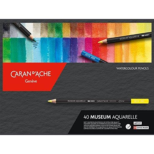 Caran D'Ache Museum Aquarelle Pencil 40 Color Set by Caran d'Ache (Image #6)