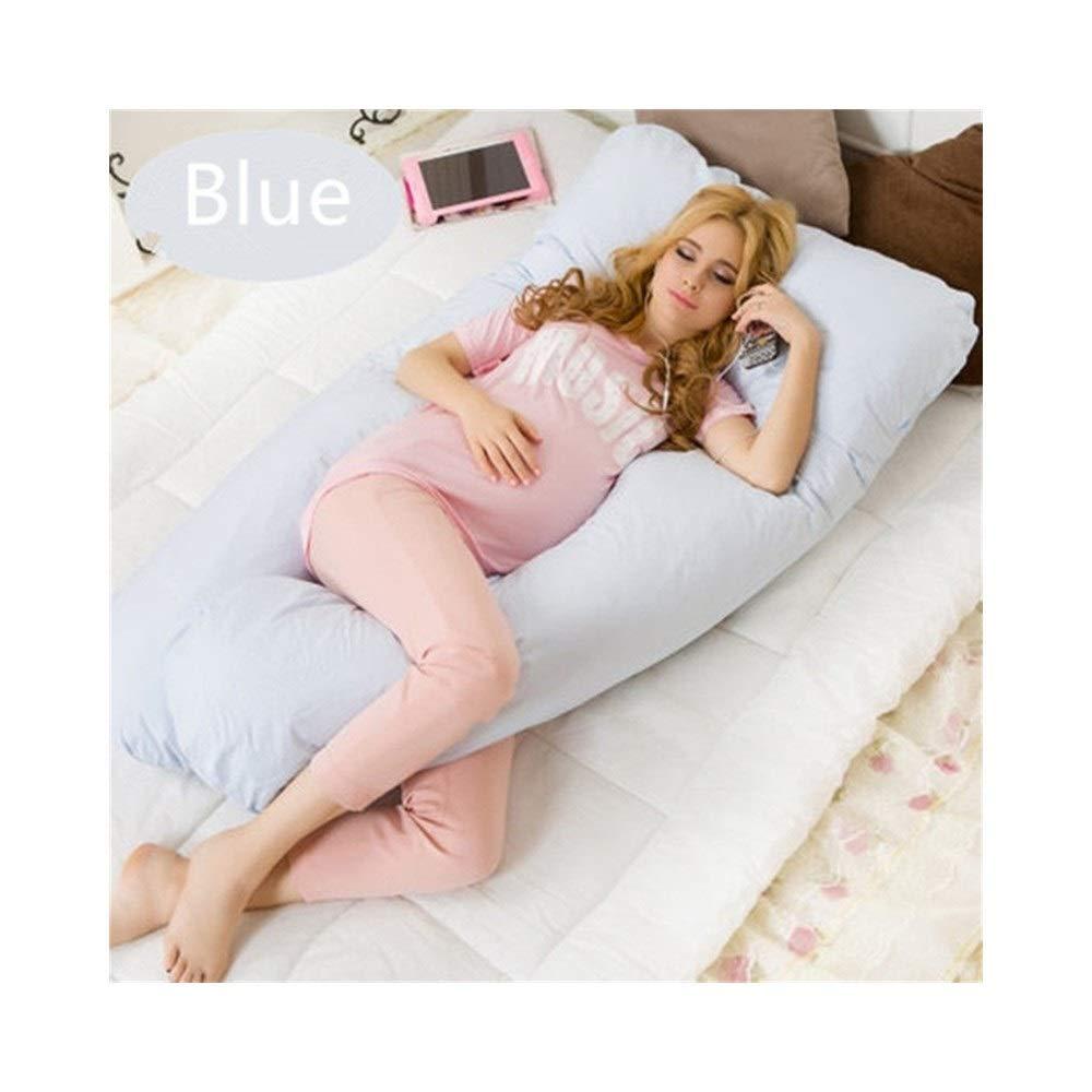 【限定特価】 XJZxX 青 フルボディ妊娠枕U字型産科枕取り外し可能コットンカバー付き背中の痛みを軽減する妊娠ボディ枕 (色 70x130CM|青 : 白, サイズ さいず : (色 70x130CM) B07R6P129Y 70x130CM|青 青 70x130CM, TROPHY(トロフィー):0fdc33bb --- en.mport.org
