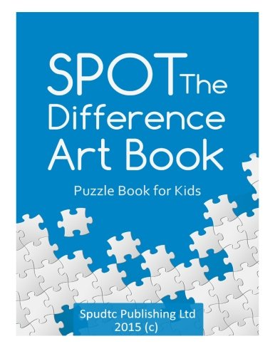 Download Spot The Difference Art Book: Puzzle Book for Kids pdf