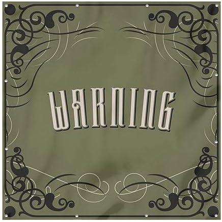 Victorian Gothic Heavy-Duty Outdoor Vinyl Banner CGSignLab 6x6 Warning