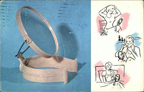 Vintage Advertising Postcard: Nee-Look Make-Up Mirror Advertising 1986