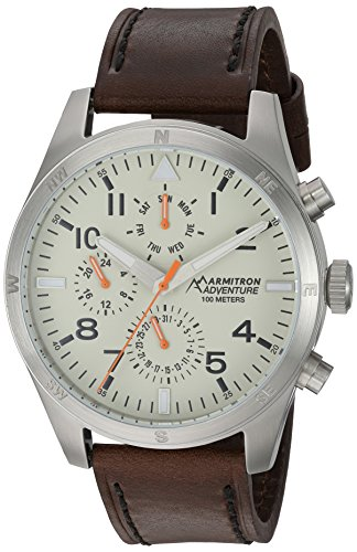 Armitron Adventure Men's AD/1003IVSVBN Multi-Function Dia...