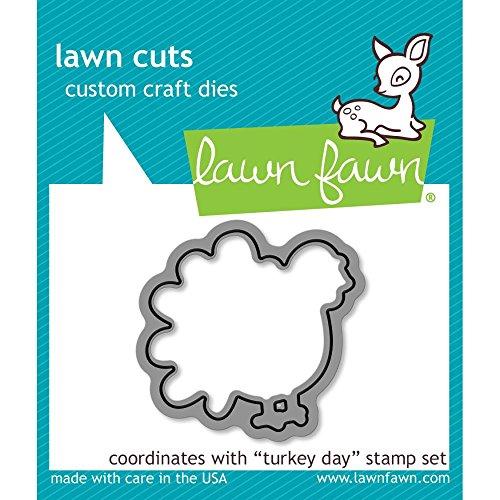 Turkey Die - Lawn Fawn Lawn Cuts Custom Craft Die - LF968 Turkey Day
