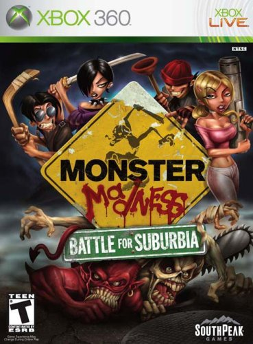 amazon com monster madness battle for suburbia xbox 360 artist Infernal Hell's Vengeance Xbox 360 amazon com monster madness battle for suburbia xbox 360 artist not provided video games