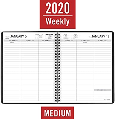 AT-A-GLANCE 2020 Weekly Planner, 6-3/4