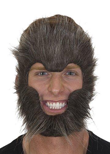 27884 Gray Werewolf Face Mask
