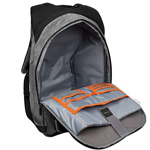 3dfb844edf CHICMODA Duffle Bag Waterproof Travel Gym Bag Sport Luggage Backpack  Rucksack Grey 17.3 inches  Amazon.in  Bags