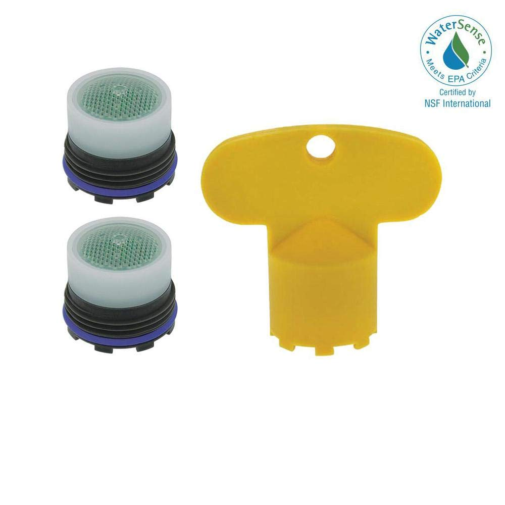 Neoperl Faucet Tom Thumb Size PCA Cache Standard Aerator Honeycomb Filter Screen 1.5 GPM, M16.5x1 With Tool Key Two Pack