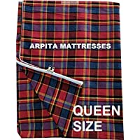 Cotton Mattress Cover for Queen Size Bed with Zip(All Customized Inside