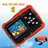 Waterproof Camera for Kids, CrazyFire 12MP HD Underwater Digital Camera Children Birthday Gift
