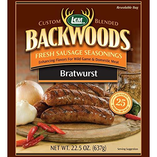 (LEM Backwoods Bratwurst Fresh Sausage)