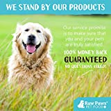 Raw Paws Natural Cow Hooves for Dogs, 10-Pack